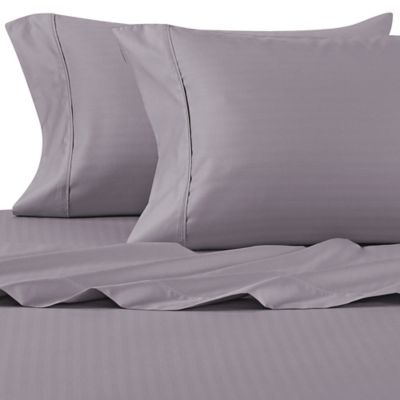 Nice Wamsutta® 625 Thread Count PimaCott® Herringbone California King Sheet Set  In Charcoal Nice Design