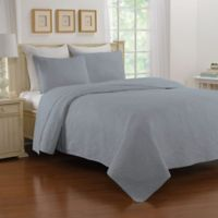 Nostalgia Home™ Saville King Bedspread in Blue