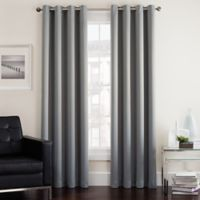 Twilight 95-Inch Room Darkening Grommet Top Window Curtain Panel in Grey