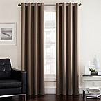 Twilight 84-Inch Room Darkening Grommet Window Curtain Panel in Mocha
