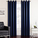 Twilight 63-Inch Room Darkening Grommet Top Window Curtain Panel in Navy