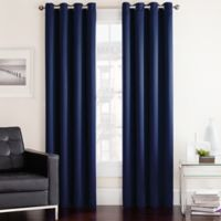 Twilight 95-Inch Room Darkening Grommet Top Window Curtain Panel in Navy