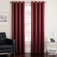 Twilight 63-Inch Room Darkening Grommet Top Window Curtain Panel in Spice