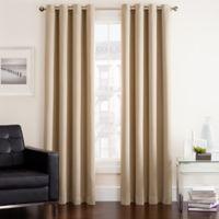 Twilight 95-Inch Room Darkening Grommet Top Window Curtain Panel in Ivory