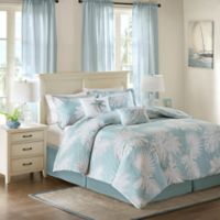 Harbor House™ Palm Grove King Comforter Set in Blue