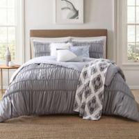 Jennifer Adams Home Lending 7-Piece Full/Queen Comforter Set in Grey