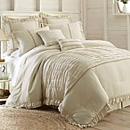 PCT Home Antonella Jacquard 8-Piece Queen Comforter Set in Natural