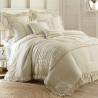 PCT Home Antonella Jacquard 8-Piece King Comforter Set in Natural