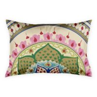Boho Medallion Standard Pillow Sham in Green