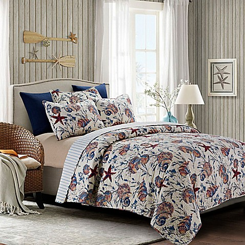 By The Sea S South Seas Quilt Set In Blue
