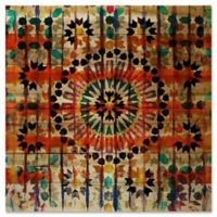 """Parvez Taj """"Amizmiz"""" 24-Inch x 24-Inch Wood Wall Art"""