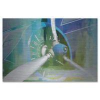 Parvez Taj Blades 36-Inch x 24-Inch Aluminum Wall Art