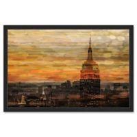 "Parvez Taj ""Bronze Night"" 30-Inch x 20-Inch Framed Print Wall Art"