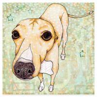 Marmont Hill Greyhound Pop Art 18-Inch x 18-Inch Canvas Wall Art