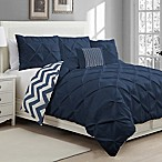 Avondale Manor Ella Queen Duvet Cover Set in Navy