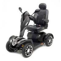 Drive Medical Cobra GT4 Heavy Duty Power Mobility Scooter in Black with 22-Inch Seat