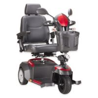 Drive Medical Ventura Rear Wheel Drive Deluxe Mobility 3-Wheel Scooter with 18-Inch Captain's Seat