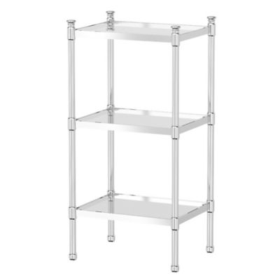 Buy Chrome Shelving from Bed Bath & Beyond