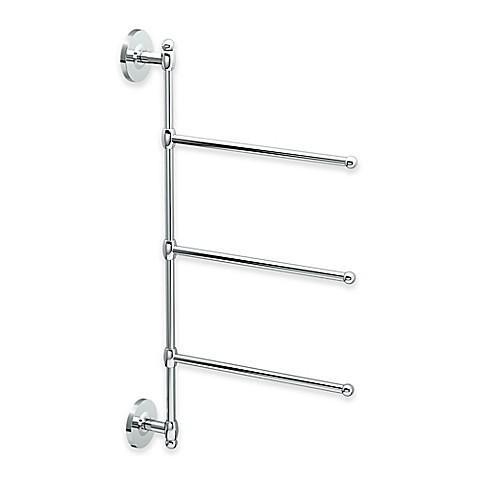 Gatco 174 3 Arm Wall Mount Towel Bar Bed Bath Amp Beyond