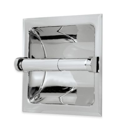 gatco recessed toilet paper holder in chrome - Bathroom Accessories Toilet Paper Holders