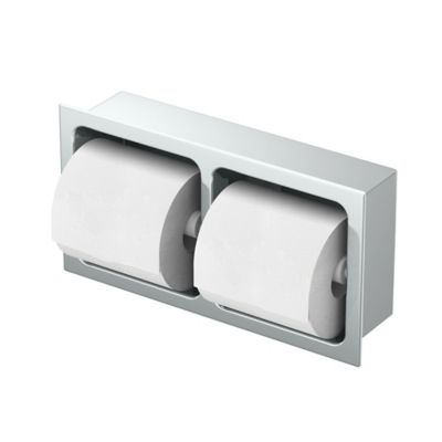 Gatco  Double Recessed Tissue Holder in Chrome. Buy Bath Tissue Holder from Bed Bath   Beyond