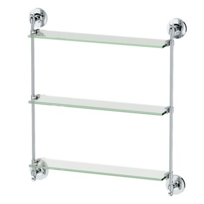Buy Bathroom Glass Shelves From Bed Bath Beyond