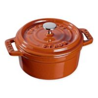 Staub Round Mini Cocotte in Burnt Orange