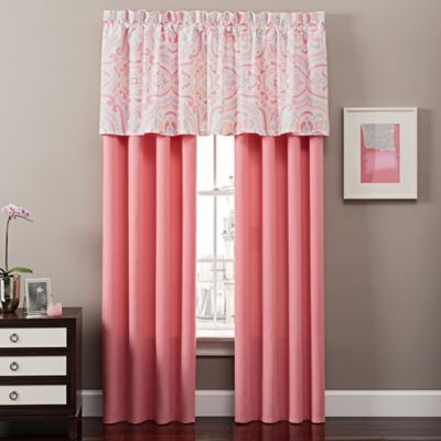 Buy Coral Window Curtains from Bed Bath & Beyond