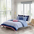 Echo Design™ Shibori Reversible King Duvet Cover Set in Blue