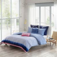 Echo Design™ Shibori Reversible Full/Queen Duvet Cover Set in Blue