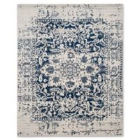 Safavieh Madison Arya 9-Foot x 12-Foot Area Rug in Cream/Navy