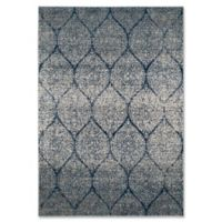 Safavieh Madison Brienne 6-Foot 7-Inch x 9-Foot 3-Inch Area Rug in Navy/Silver
