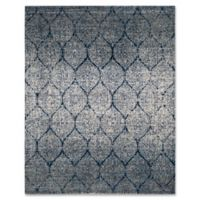 Safavieh Madison Brienne 9-Foot x 12-Foot Area Rug in Navy/Silver