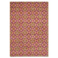 Safavieh Madison Elaria 3-Foot x 5-Foot Accent Rug in Fuchsia/Gold