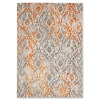 Safavieh Madison Pia 4-Foot x 6-Foot Accent Rug in Cream /Orange