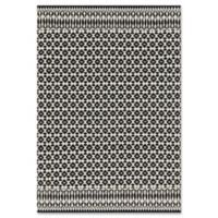 Magnolia Home by Joanna Gaines Emmie Kay 5-Foot x 7-Foot 6-Inch Area Rug in Ivory/Black