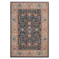 Safavieh Madison Myrcella 5-Foot 1-Inch x 7-Foot 6-Inch Area Rug in Navy/Cream