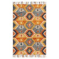 Magnolia Home by Joanna Gaines Brushstroke Santa Fe 5-Foot x 9-Foot 6-Inch Area Rug in Spice