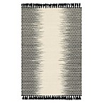 Magnolia Home by Joanna Gaines Chantilly 2-Foot 3-Inch x 3-Foot 9-Inch Accent Rug in Ivory/Black