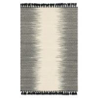 Magnolia Home by Joanna Gaines Chantilly 3-Foot 6-Inch x 5-Foot 6-Inch Area Rug in Ivory/Black