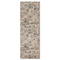 Magnolia Home By Joanna Gaines Kivi 2-Foot 7-Inch x 10-Foot Runner in Ink/Ivory