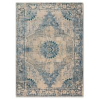 Magnolia Home By Joanna Gaines Kivi 6-Foot 7-Inch x 9-Foot 2-Inch Area Rug in Sand/Sky