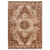 Magnolia Home By Joanna Gaines Kivi 12-Foot x 15-Foot Area Rug in Sand/Rust