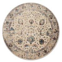 Magnolia Home By Joanna Gaines Kivi 5-Foot 3-Inch Round Area Rug in Ivory/Multi