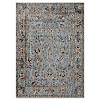 Magnolia Home By Joanna Gaines Kivi 5-Foot 3-Inch x 7-Foot 8-Inch Area Rug in Light Blue/Clay