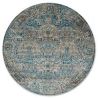 Magnolia Home By Joanna Gaines Kivi 9-Foot 6-Inch Round Area Rug in Fog/Mediterranean