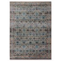 Magnolia Home By Joanna Gaines Kivi Fog 6-Foot 7-Inch x 9-Foot 2-Inch Area Rug in Fog/Multi