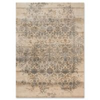 Magnolia Home By Joanna Gaines Kivi 2-Foot 7-Inch x 4-Foot Accent Rug in Ivory/Quarry
