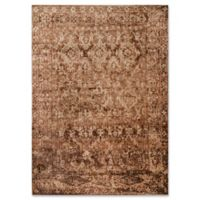 Magnolia Home By Joanna Gaines Kivi 5-Foot 3-Inch x 7-Foot 8-Inch Area Rug in Sand/Copper