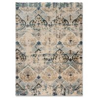 Magnolia Home By Joanna Gaines Kivi 2-Foot 7-Inch x 4-Foot Accent Rug in Sand/Ocean